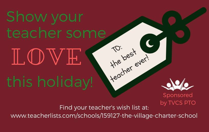 PTO Teacher Wish lists